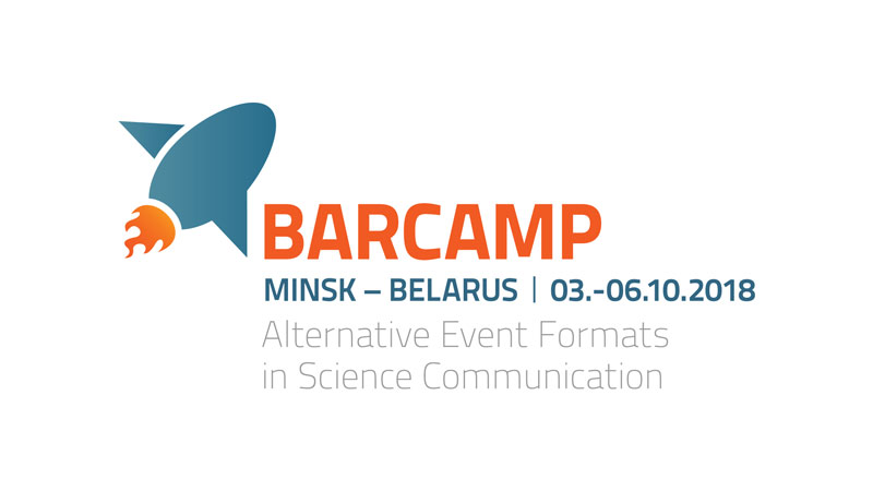 Barcamp – Alternative Events in Science Communication – Minsk – October 3rd-06th